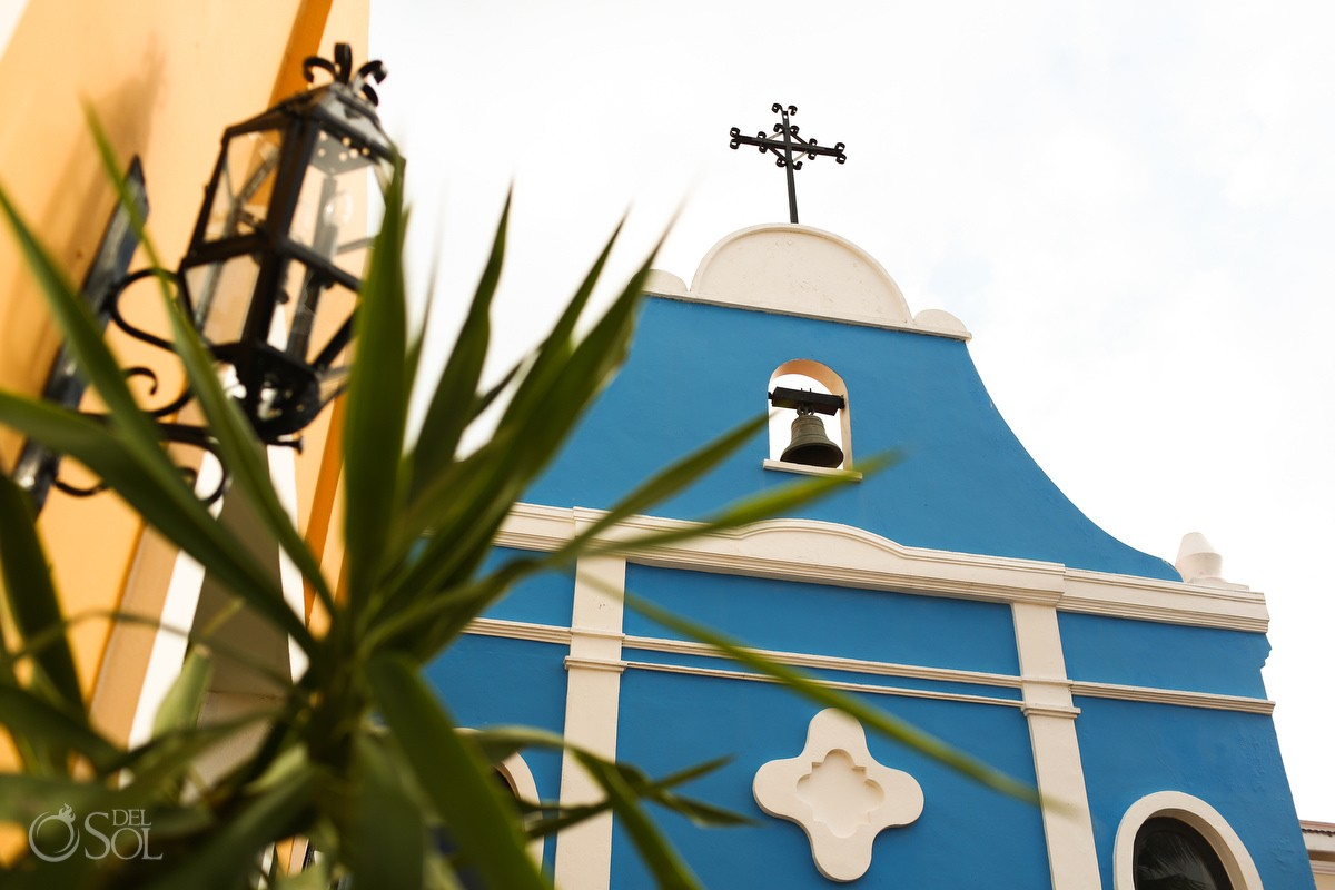 Dreams Tulum Chapel front in the Riviera Maya for destination weddings at the beach