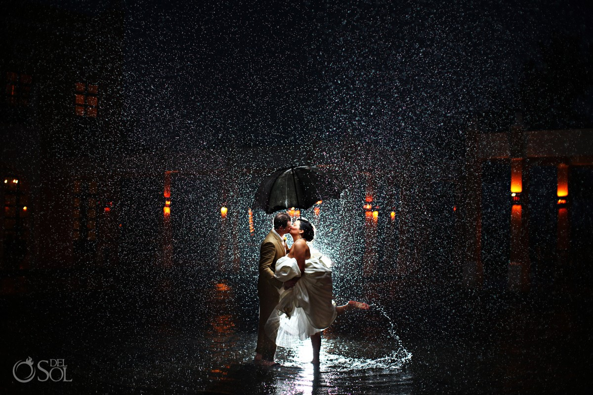 why rain on your wedding day is awesome at dreams tulum hotel
