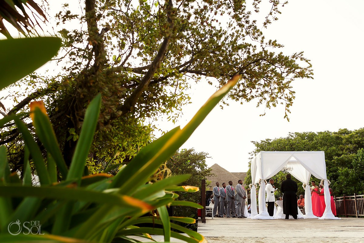 Gabi bridge Wedding reception at Paradisus La Perla, Playa del Carmen