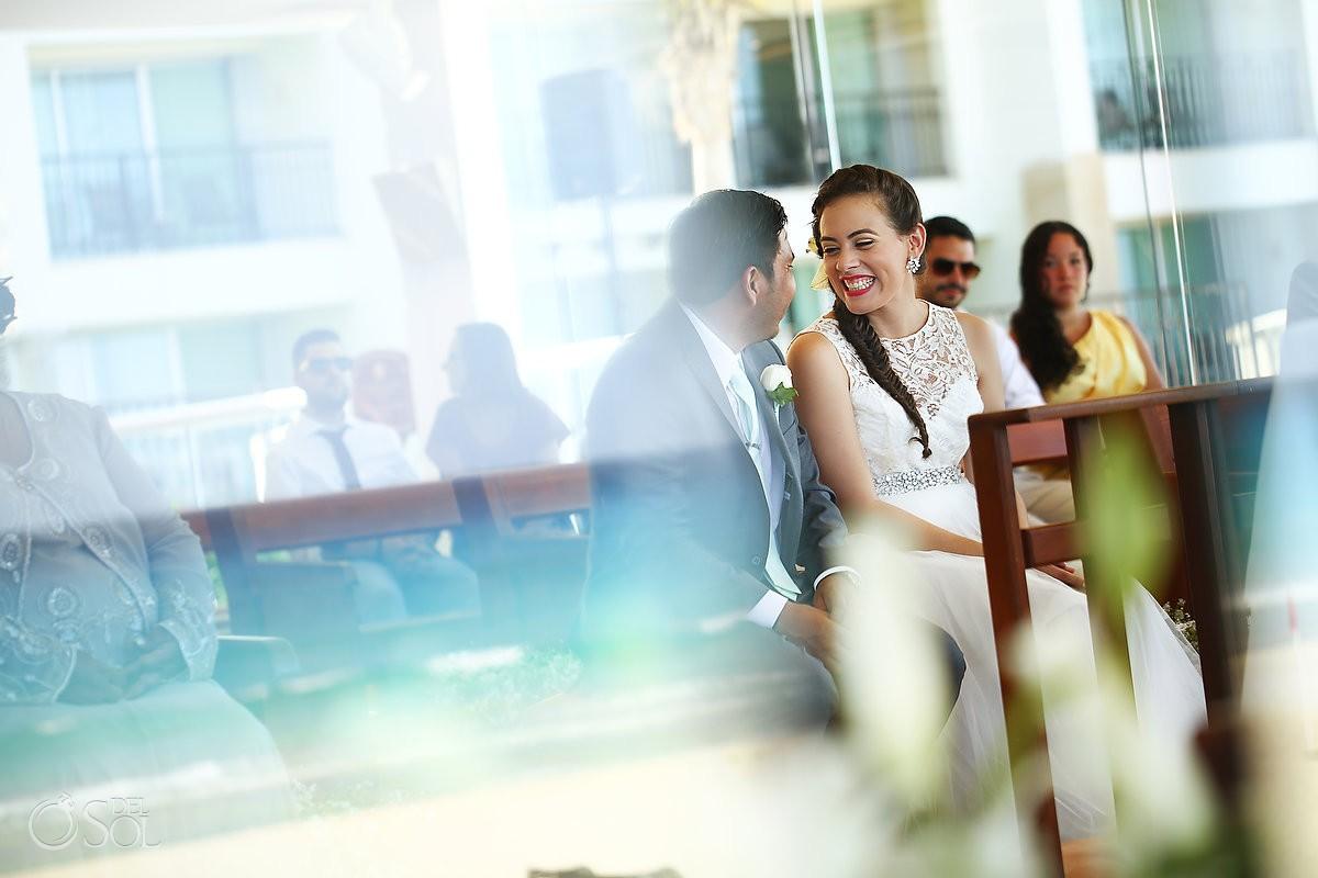 gran caribe chapel cancun mexico destination wedding bride and groom