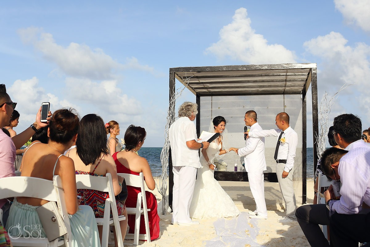 Cancun Wedding At Moon Palace Cindy And Paul