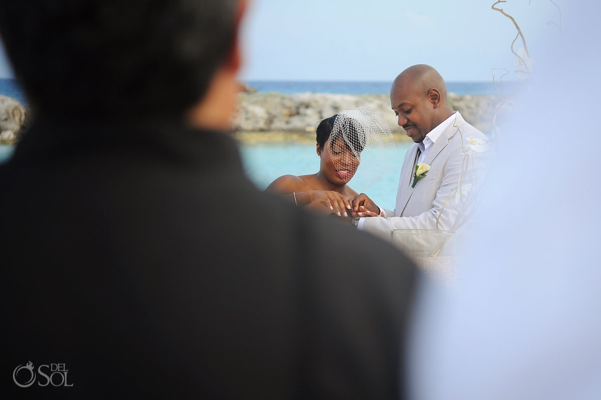Beach wedding Hard Rock Riviera Maya Mexico Del Sol Photography