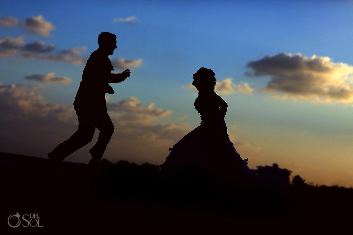 bride and groom now jade destination weddings