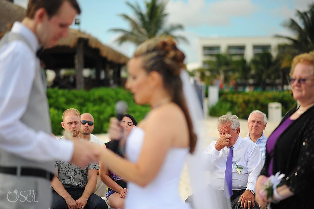 Secrets Silversands riviera cancun wedding guests