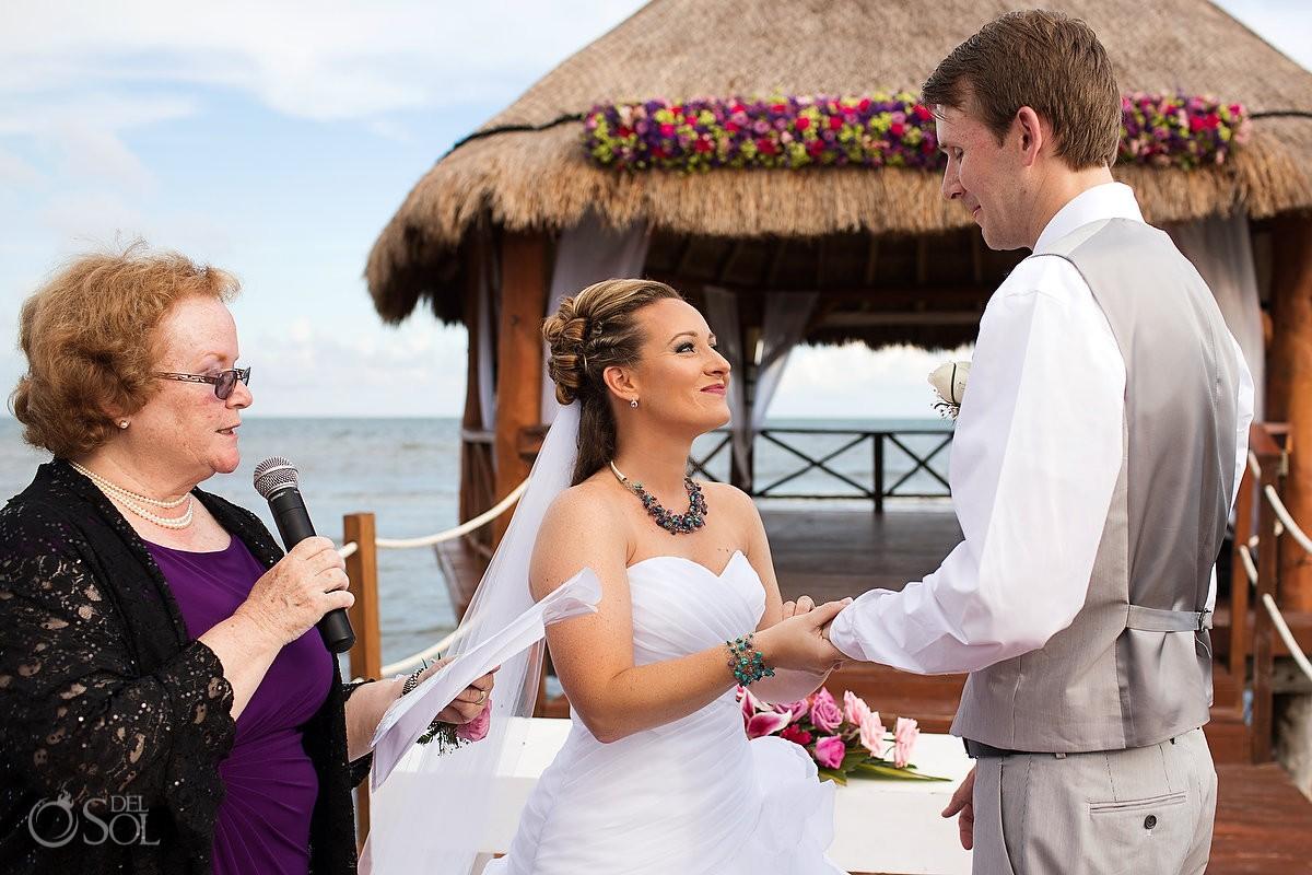 Secrets Silversands riviera cancun wedding ceremony
