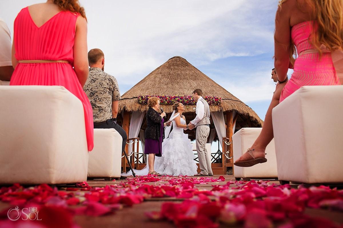 Secrets Silversands riviera cancun wedding photographer
