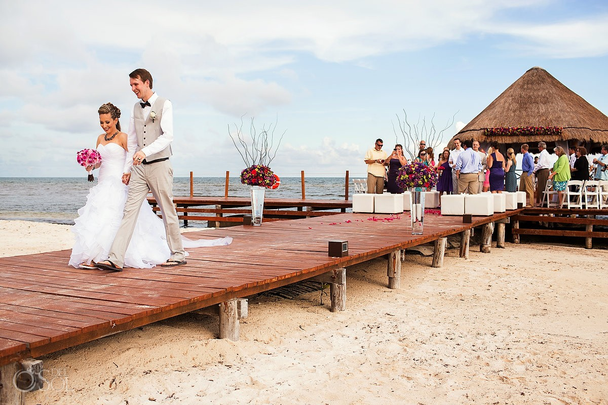 Riviera Cancun Wedding At Secrets Silversands Kelly And Brandon