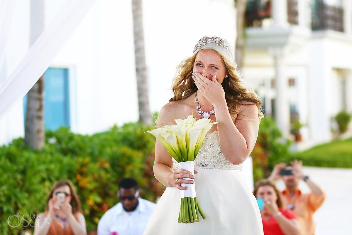 bride destination wedding Royal Playa del carmen