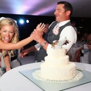 Wedding cake at Villa del Palmar