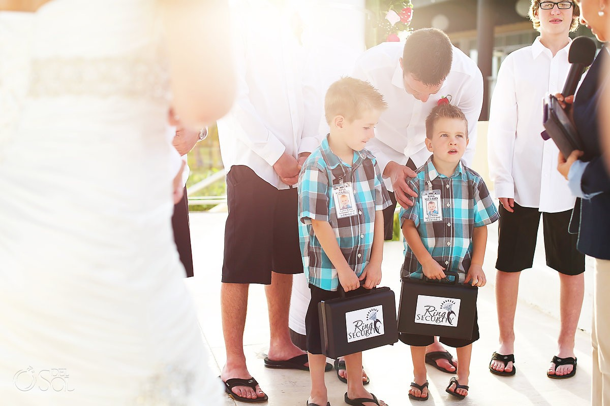 Ring Security ring bearers how include your children in your wedding ceremony