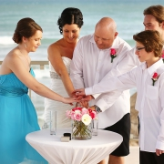 include your children in your wedding ceremony at Now Jade Riviera Cancun #Familytravel