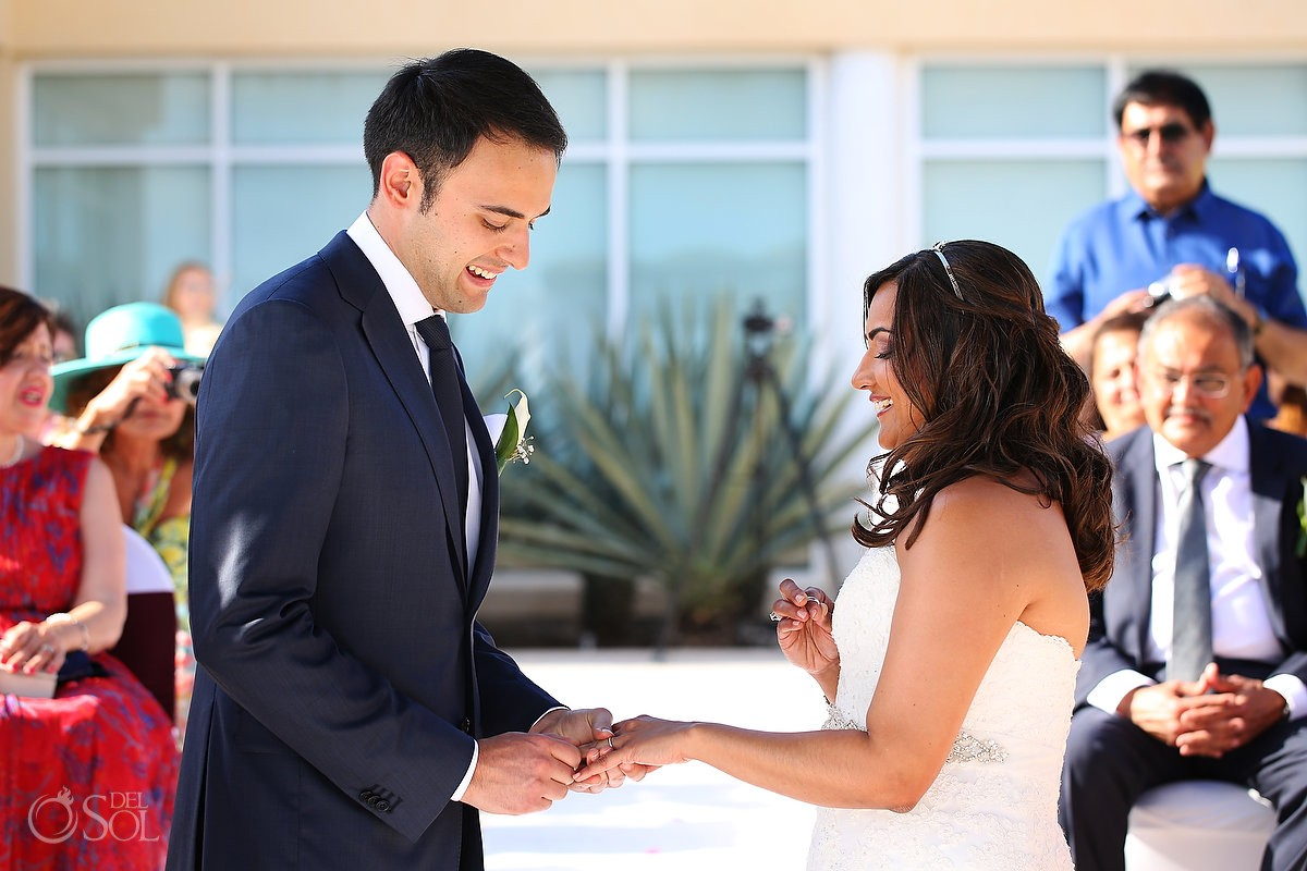 Destination wedding Now Jade ceremony Riviera Maya
