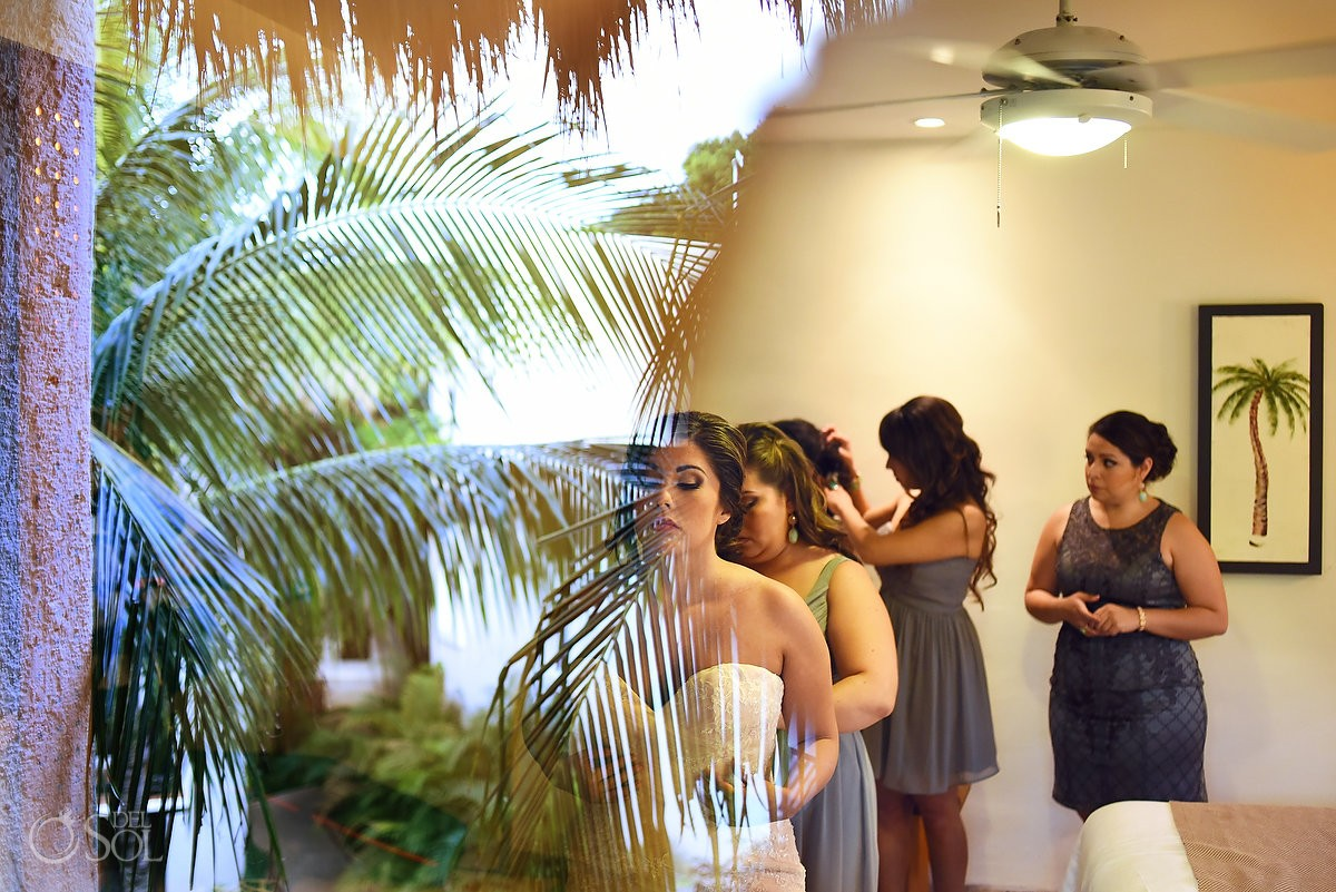 Destination wedding at The Reef Playacar, Playa del Carmen Mexico