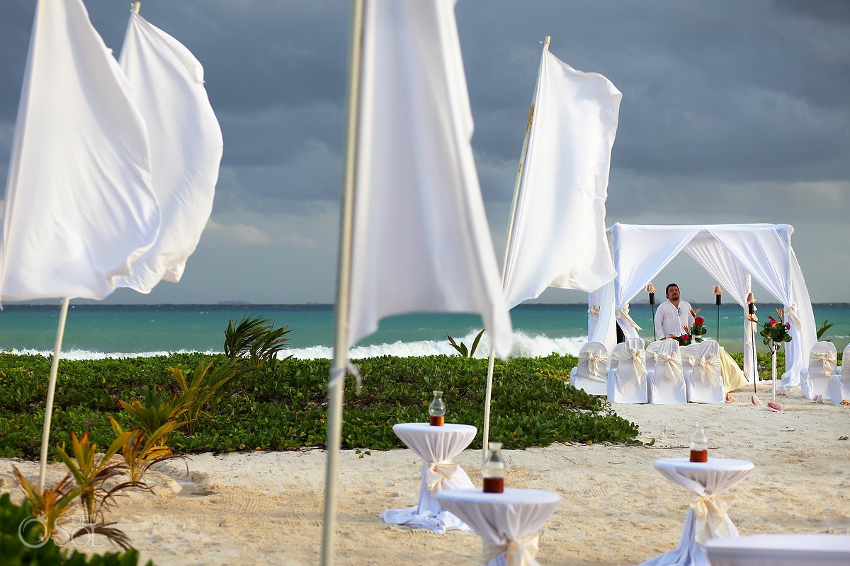Destination wedding at The Reef Playacar, Playa del Carmen, Mexico