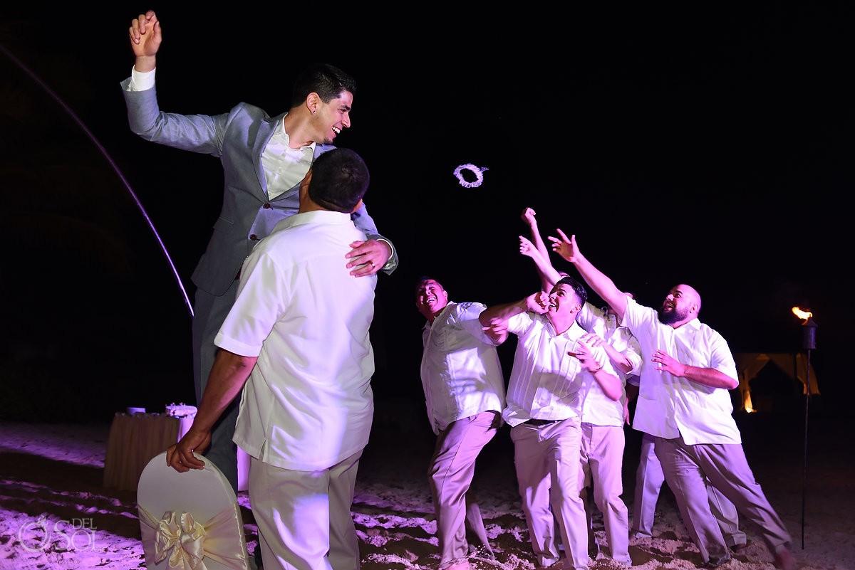 The Reef Playacar destination beach wedding reception Playa del Carmen Mexico