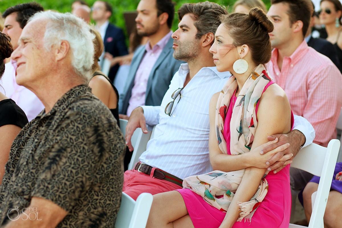 Guests destination wedding Riviera Maya Zoetry