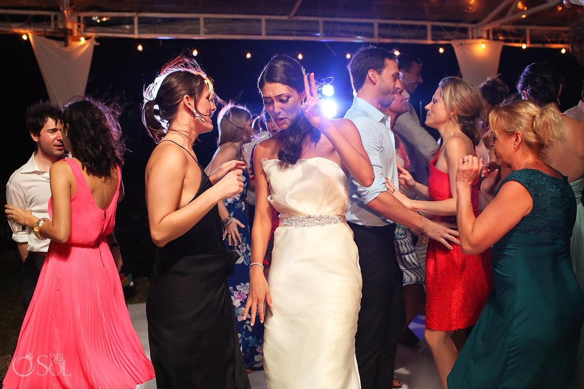 Zoetry Riviera Maya destination wedding reception
