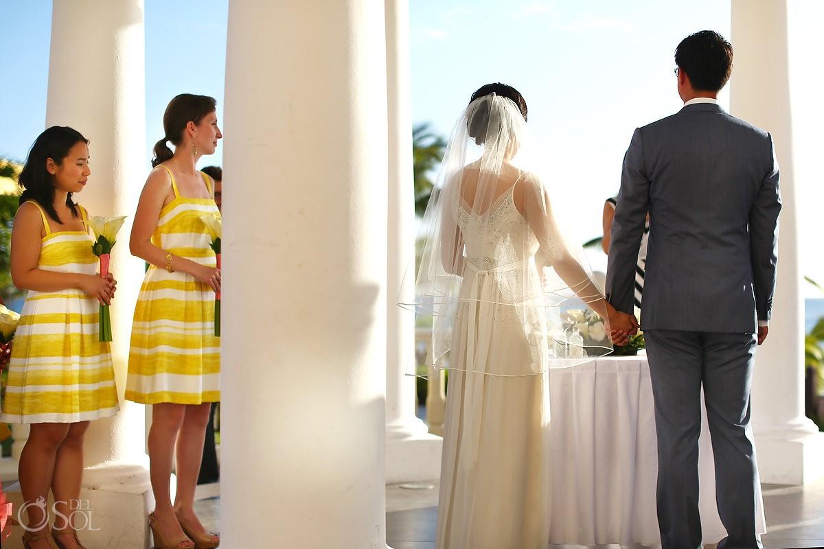 Barcelo Maya destination wedding gazebo ceremony Riviera Maya Mexico