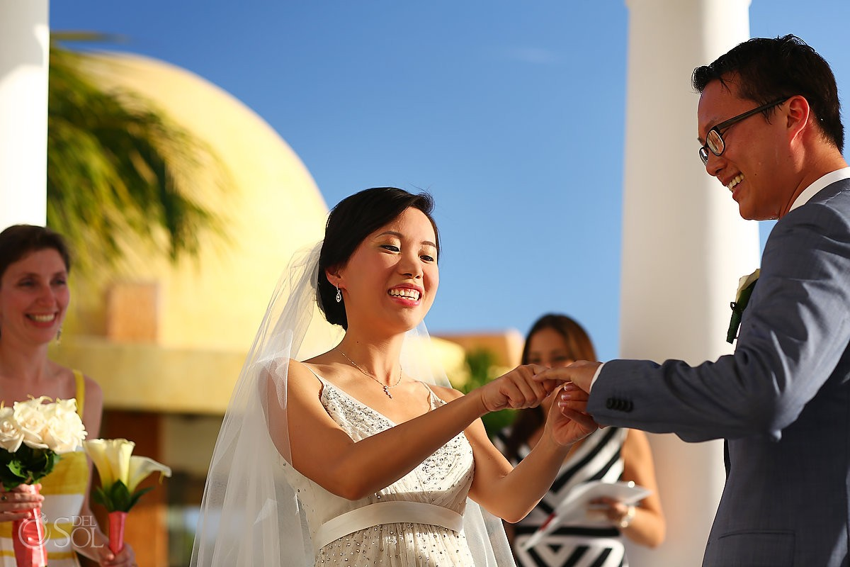 Barcelo Maya Palace destination wedding ceremony Riviera Maya Mexico
