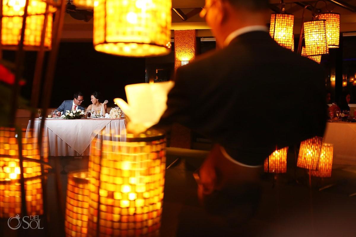 Barcelo Maya wedding reception
