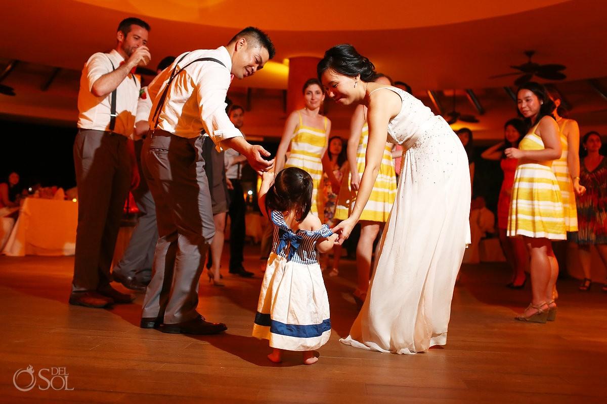 Barcelo Maya wedding reception dancing