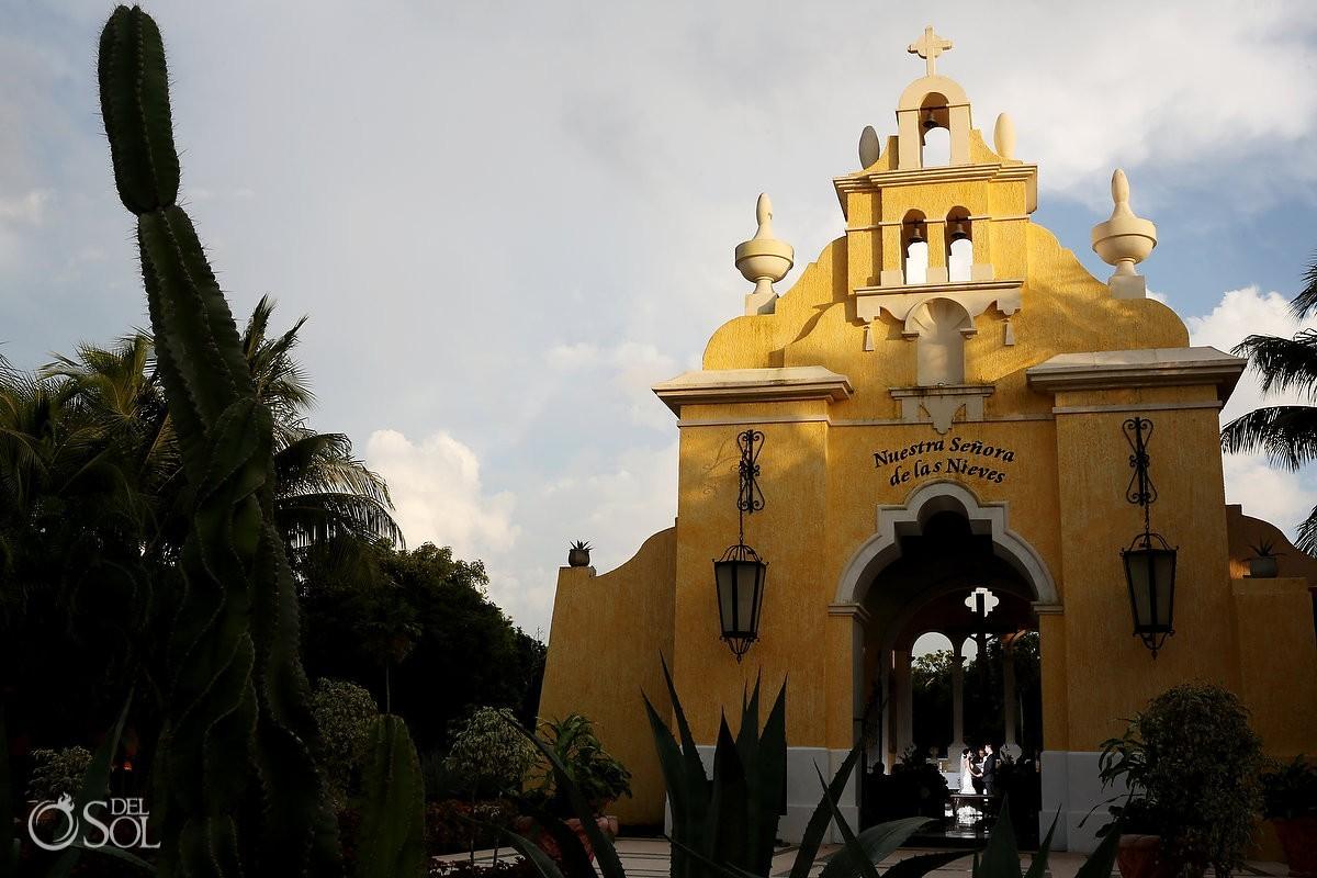 Grand Palladium Riviera Maya Church Wedding Venue
