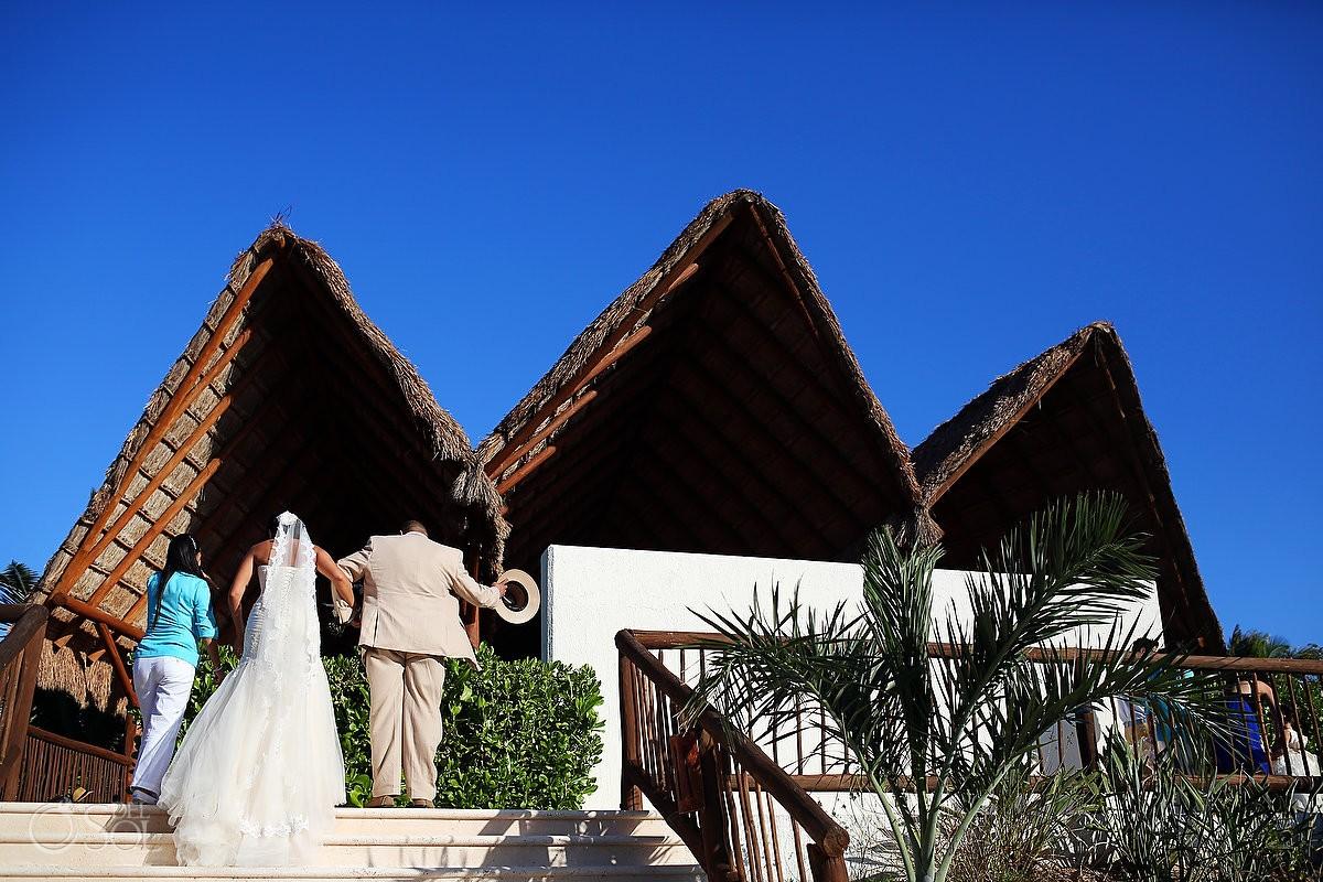 Beach Chapel Wedding At The Grand Sirenis Resort Riviera Maya