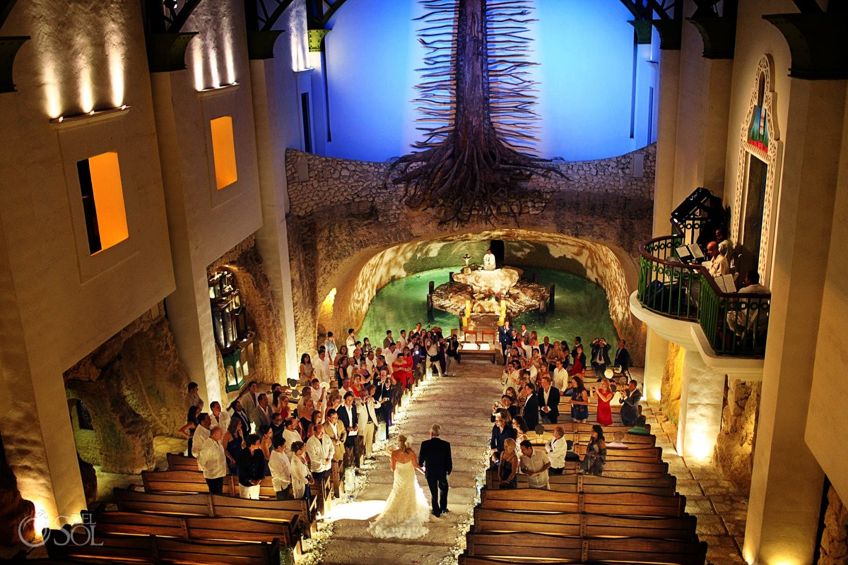 Xcaret Chapel Of Guadalupe Wedding Venue