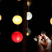 Riviera Cancun wedding newlyweds portrait Now Jade bride groom