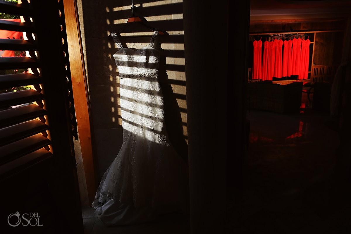 La Sposa bridal gown destination wedding Iberostar