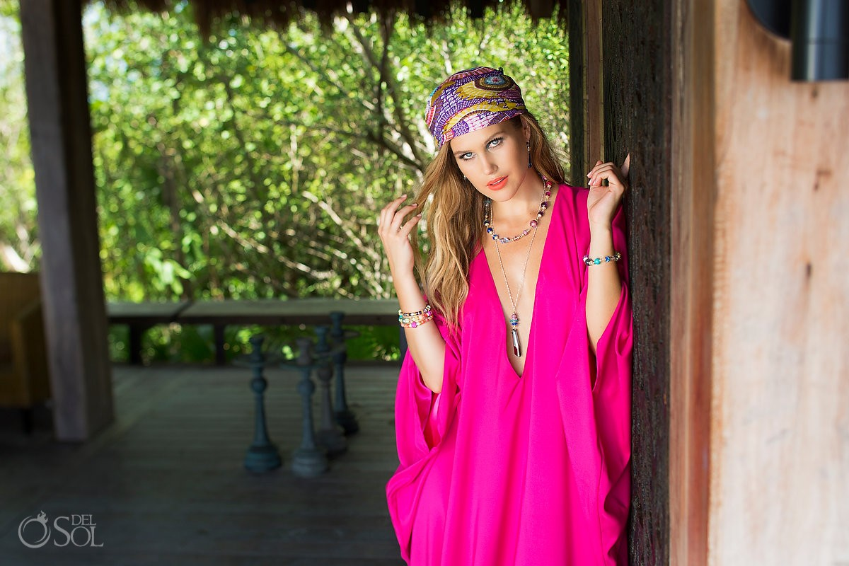 Hillberg & Berg Jewelry commercial photography Cancun shoot