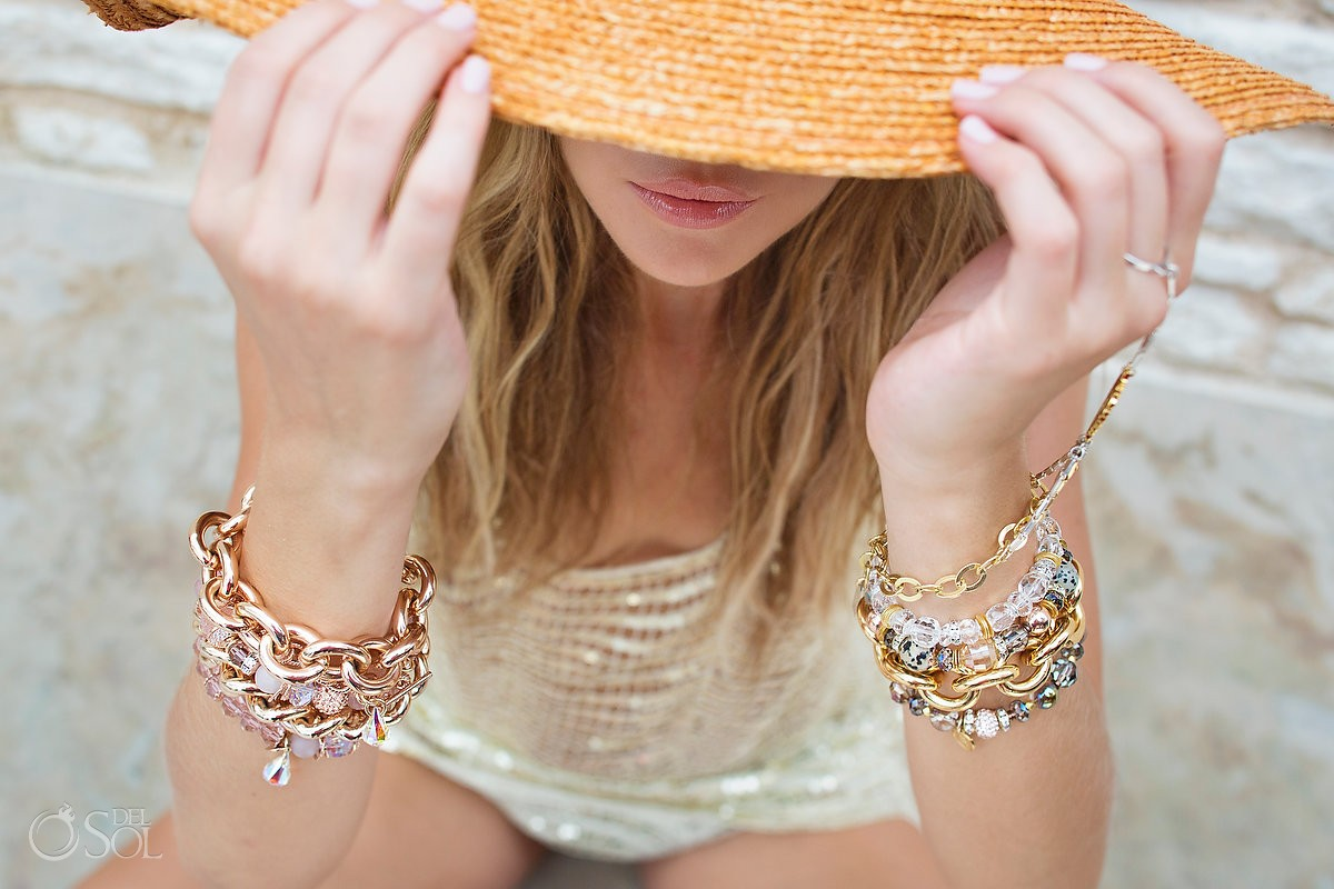 Hillberg & Berk Jewelry commercial photography Cancun shoot