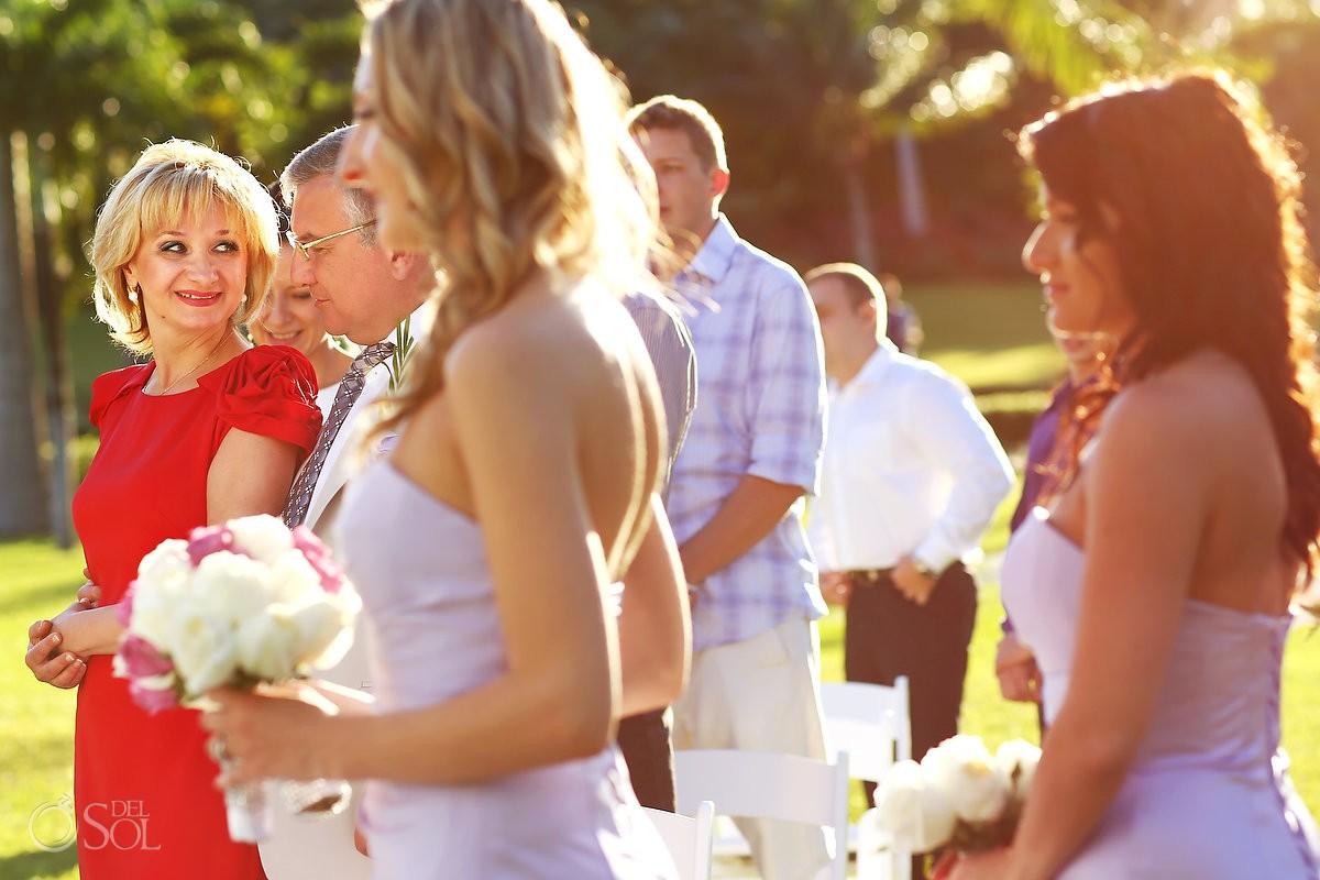 Playa del Carmen wedding guests Riu Palace Mexico