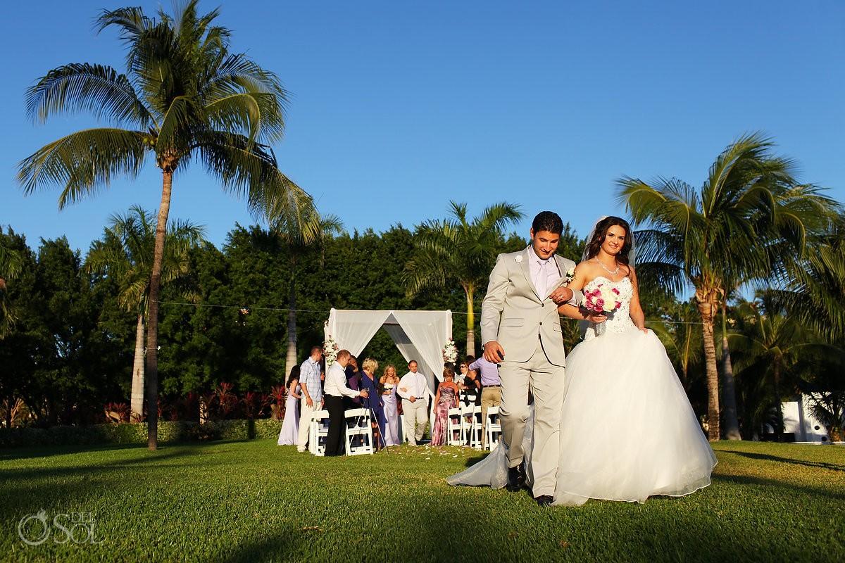 Playa Del Carmen Wedding At Riu Palace Mexico
