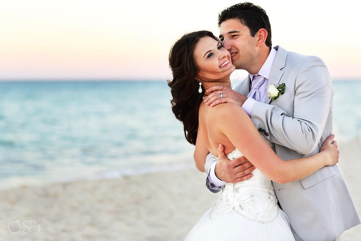 Playa del Carmen wedding beach Riu Palace Mexico