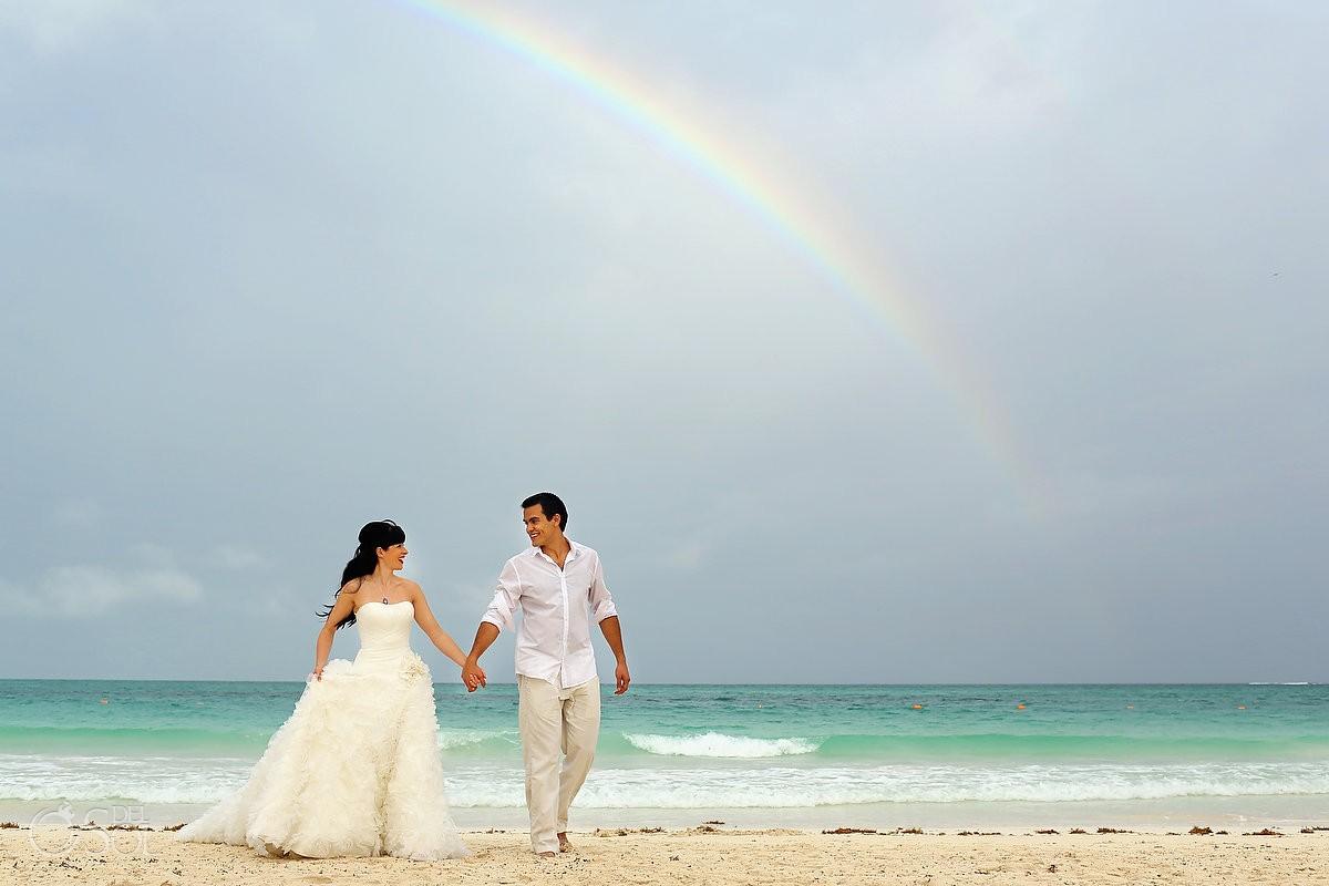 riviera maya wedding secrets maroma rainbow rainy weddings