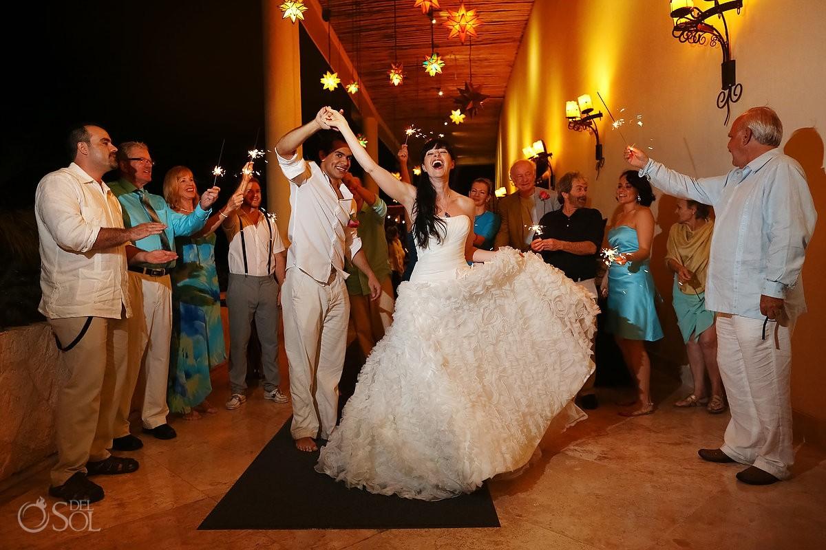 riviera maya wedding reception dancing