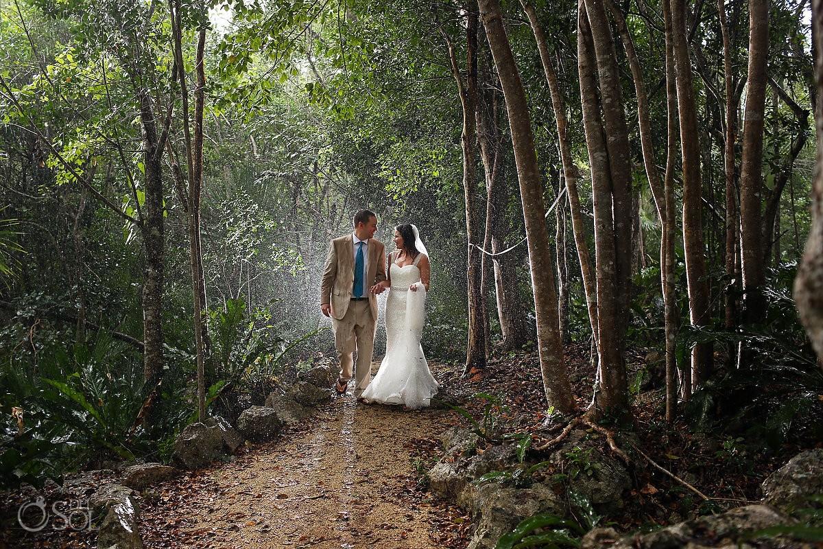 Cenote jungle trash the dress Riviera Maya Mexico