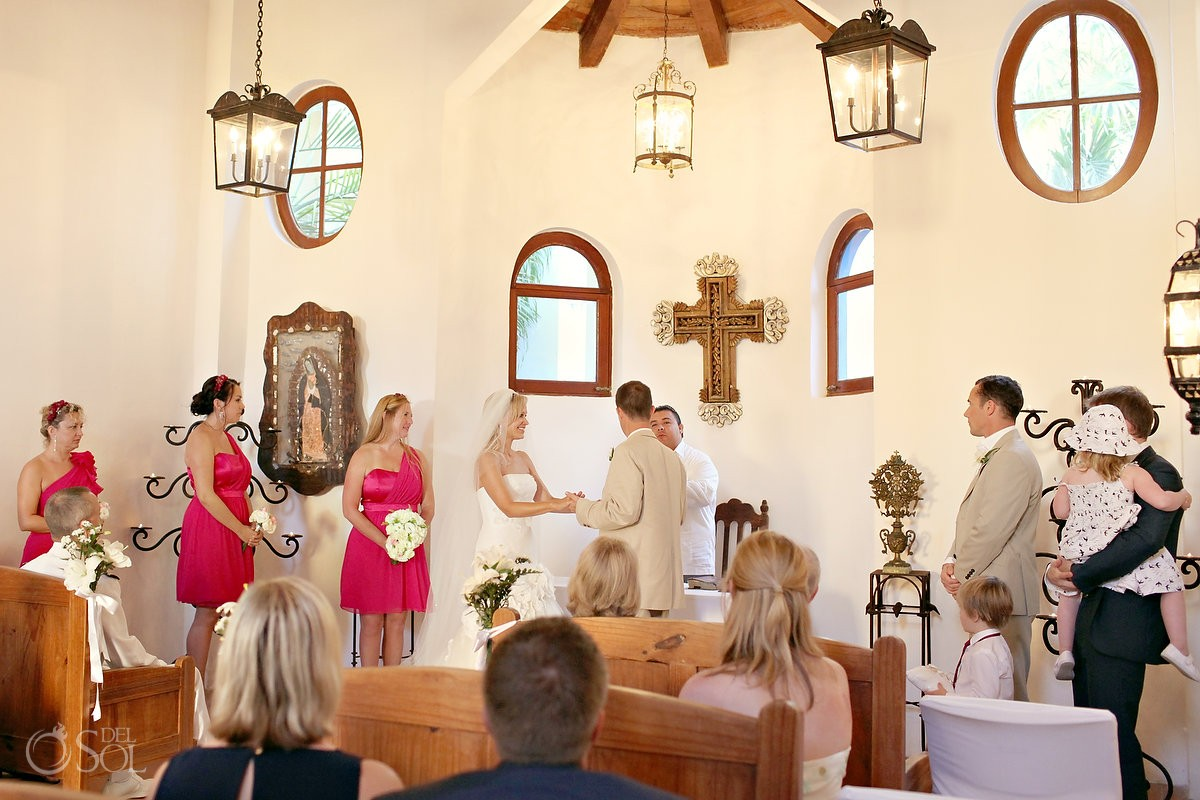 Dreams Tulum Chapel Wedding Venue