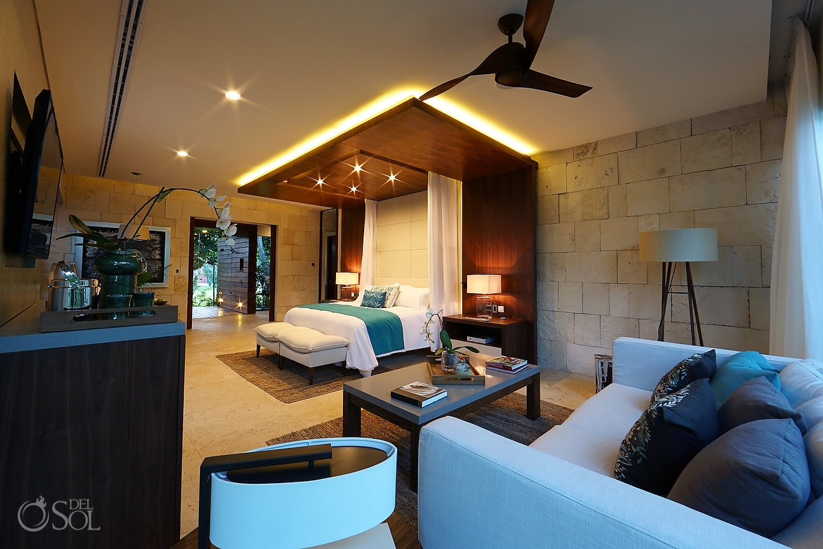 Perfect harmony between old Hacienda Ruins and Contemporary Luxury Suites at Chable Resort