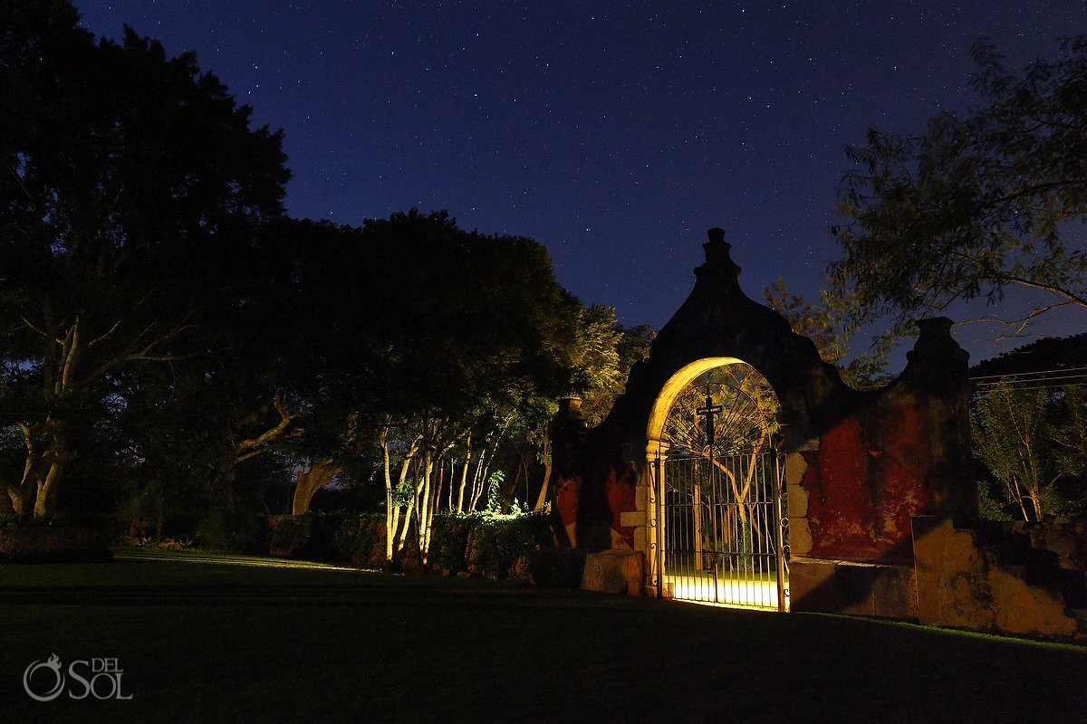 Blessed by a million stars, nights will make you experience the Magic of Mother Nature at Chable Resort, Merida Yucatan