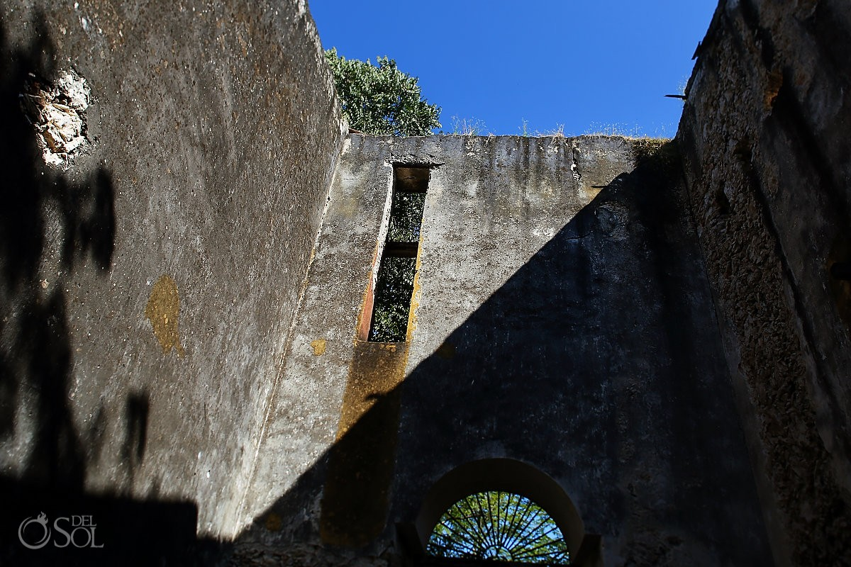 Old walls that speak history at Chable Resort Merida Yucatan