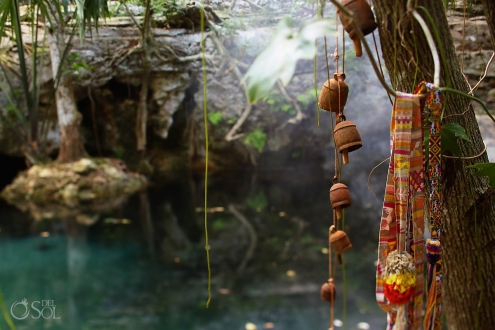 The sacred cenote at Chable Resort, Merida, Yucatan, Colonial boutique hotel #ExperienciasInfinitas