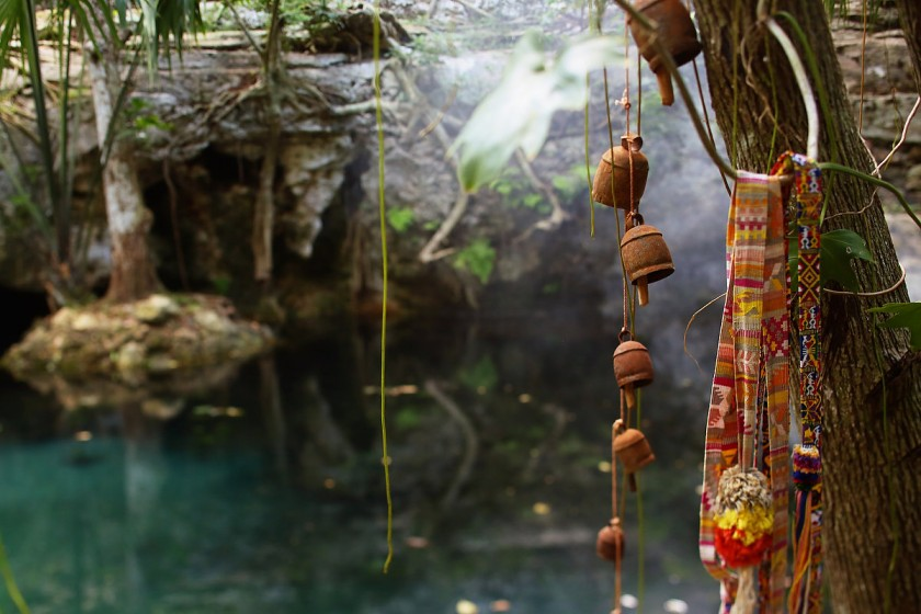 The sacred cenote at Chable Resort, Merida, Yucatan, Colonial boutique hotel #ExperienciasInfinitas