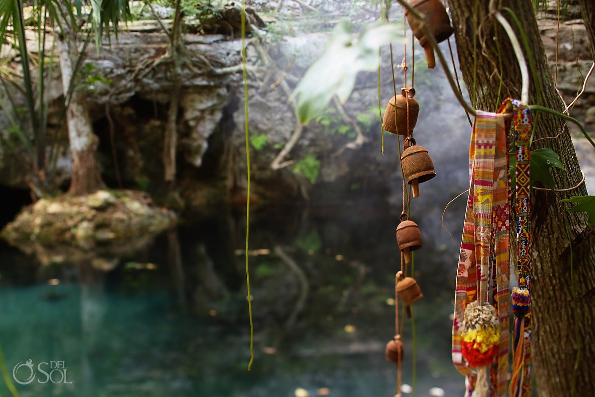 The sacred cenote at Chable Resort, Merida, Yucatan, Colonial boutique hotel