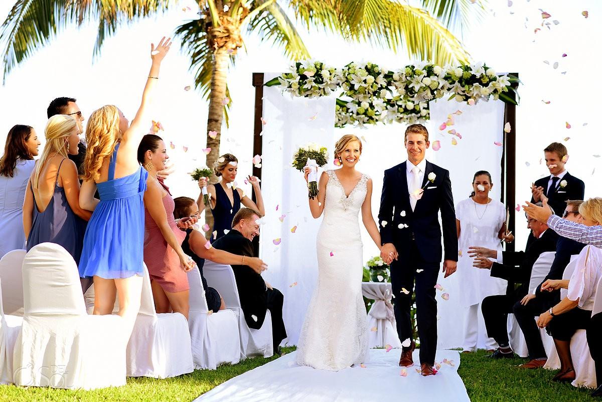 Secrets Capri wedding photographer Riviera Cancun