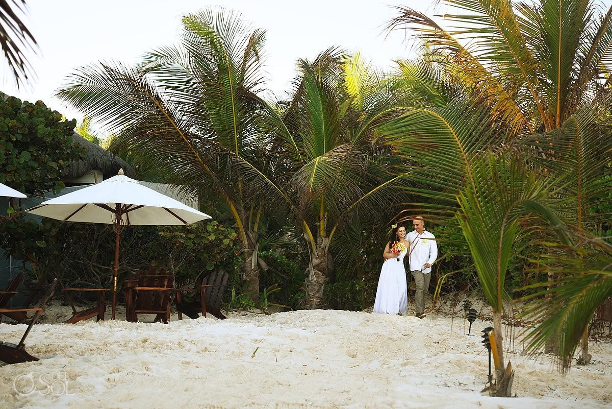 Cabanas tulum wedding