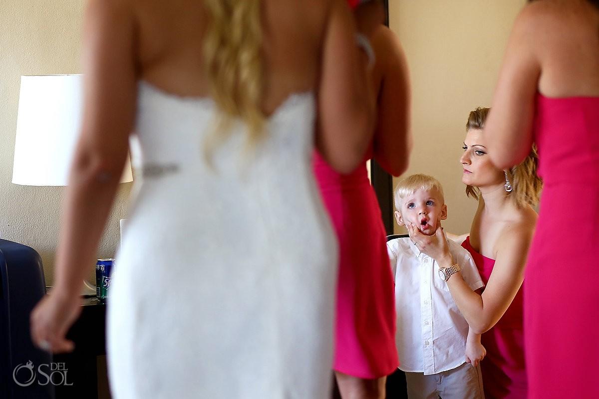 Now Jade wedding getting ready