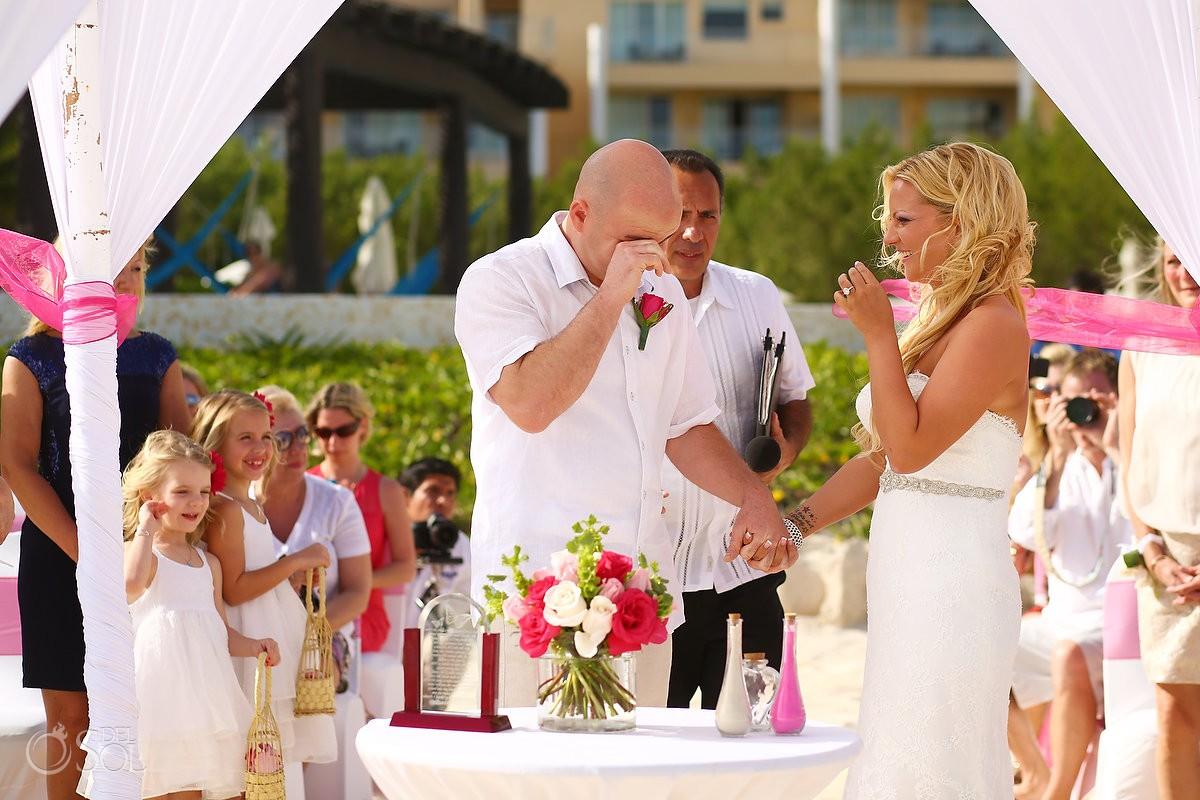Now Jade wedding crying groom