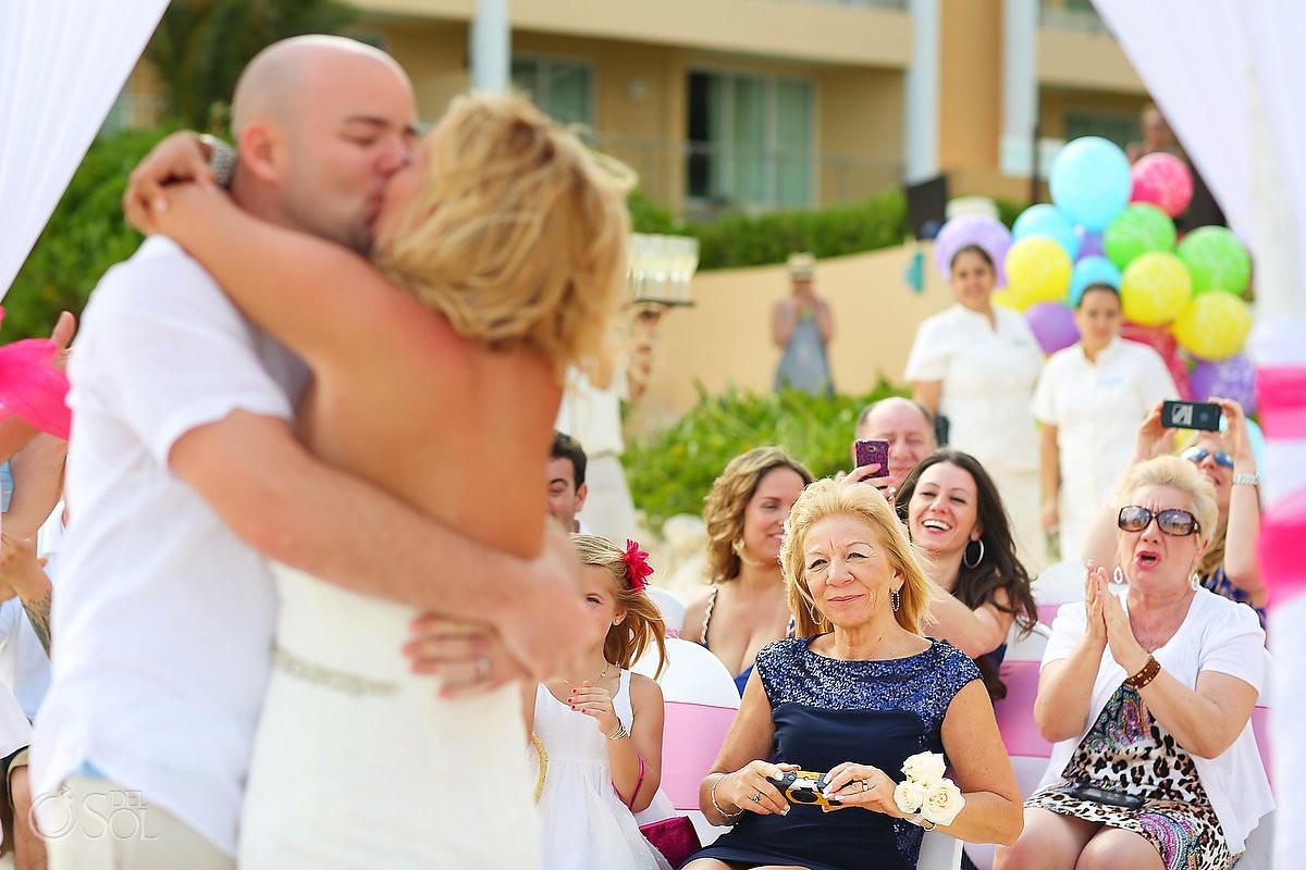 Now Jade wedding first kiss